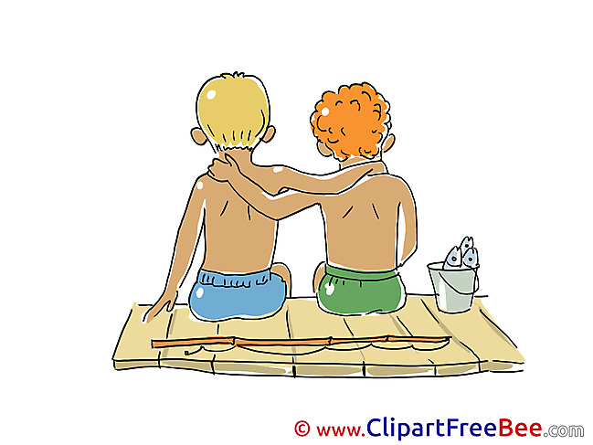 Fishing Vacation Clip Art for free