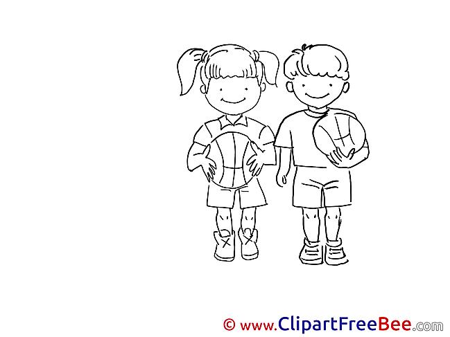 Football Vacation download Illustration
