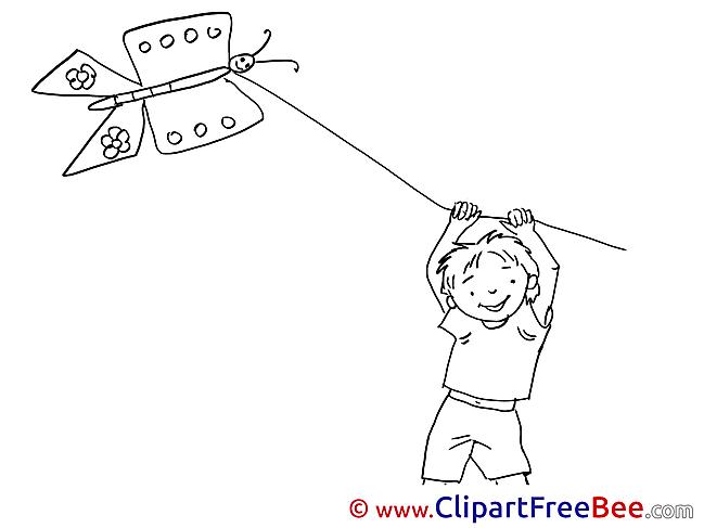 Kite Clip Art download Vacation