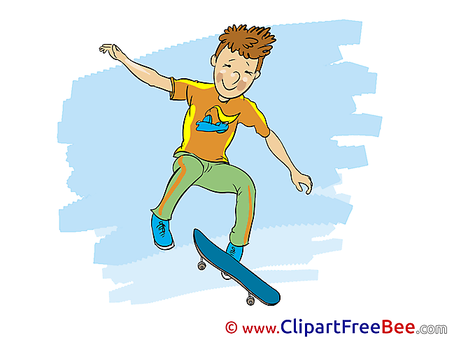 Skate printable Vacation Images