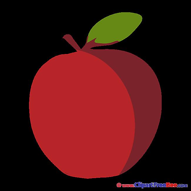Apple Clipart free Illustrations