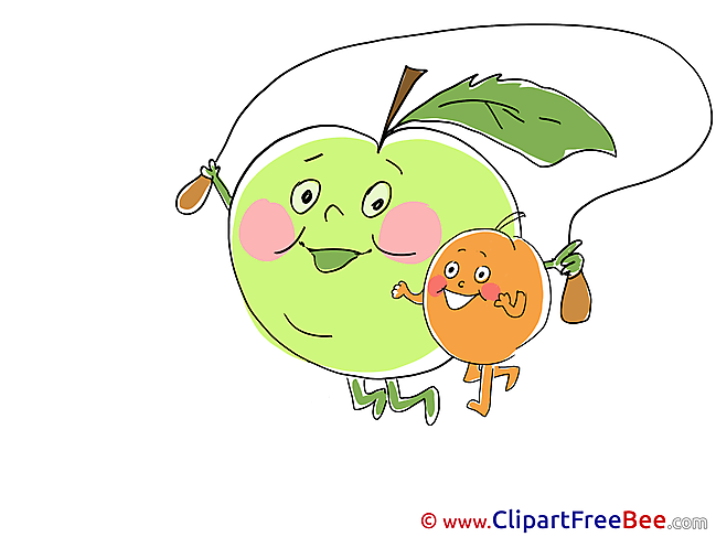 Skipping Rope Apple Pics free download Image