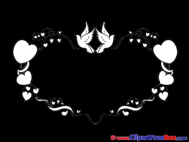 Birds Pigeons Love Clip Art download Hearts