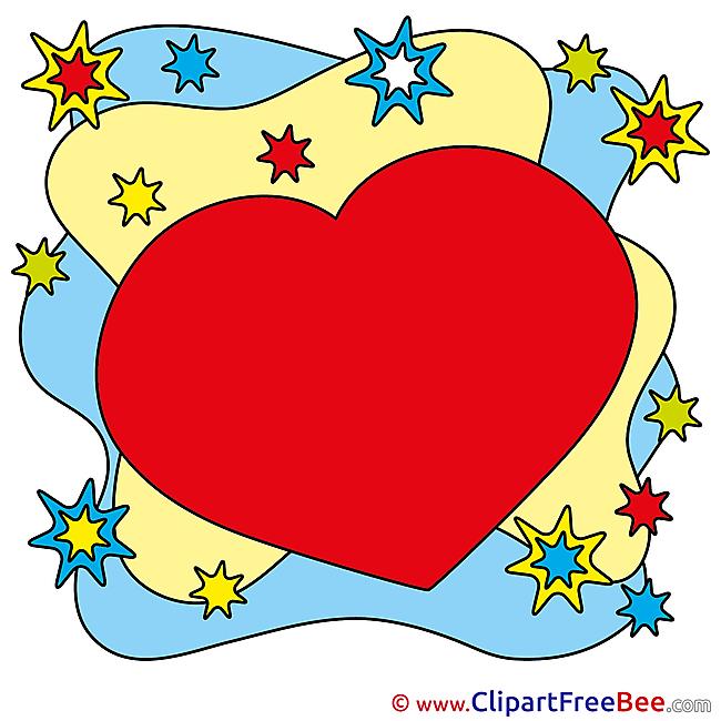 Stars download Hearts Illustrations