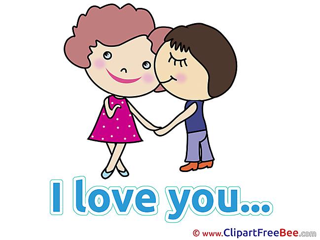 Date Boy Girl Kiss Pics I Love You free Image