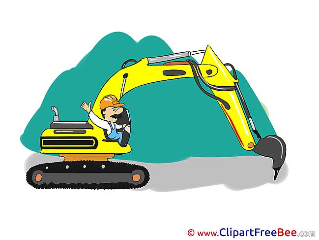 Excavator download Clip Art for free
