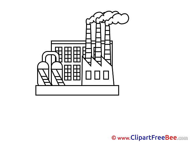 Factory Clip Art download for free