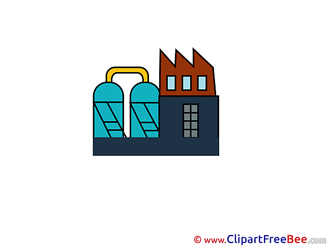 Industry Plant free printable Cliparts and Images