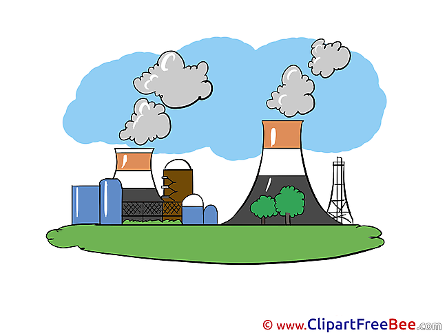Nuclear Power Station free Cliparts for download