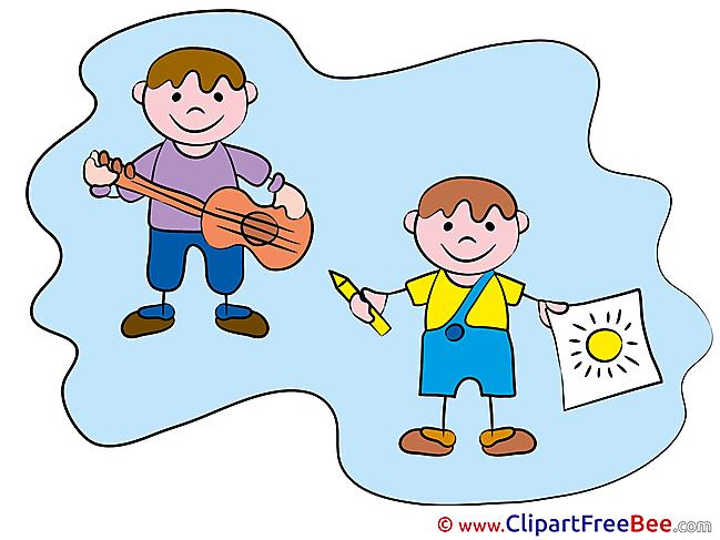 Artists Kids download Clipart Kindergarten Cliparts