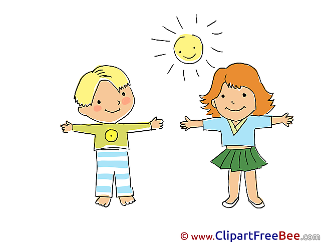 Children free Cliparts Kindergarten