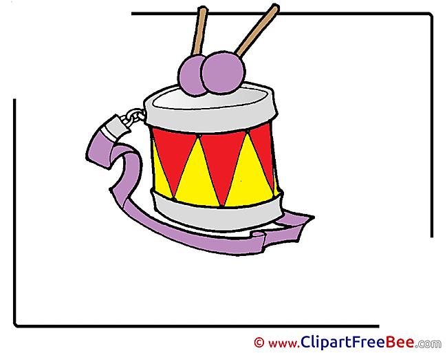Drum download Kindergarten Illustrations