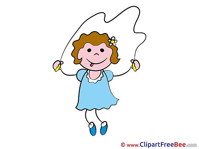 Exercises Jump Rope Clip Art download Kindergarten
