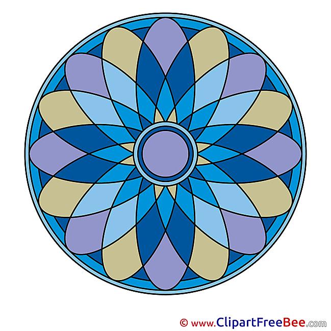 Indian Symbol Pics Mandala free Cliparts