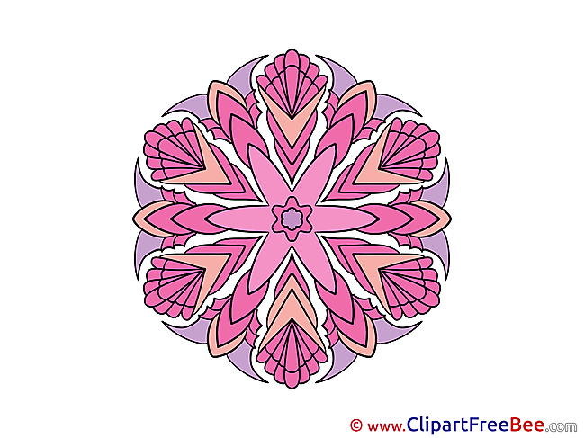 Printable Illustrations Mandala