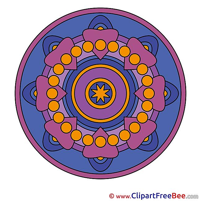 Universe Mandala Illustrations for free