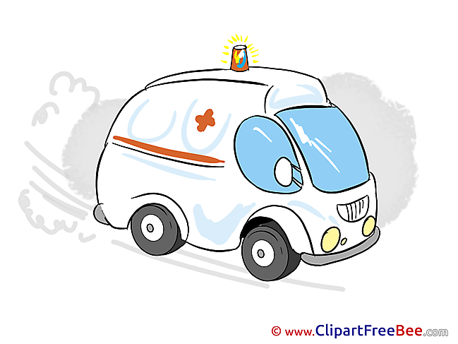 Ambulance Cliparts printable for free
