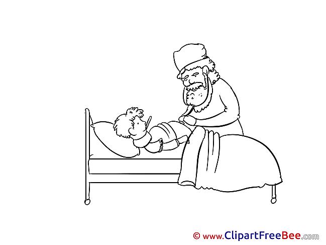 Hospital Ward Clip Art download for free