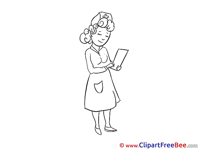 Image Nurse Clipart free Illustrations