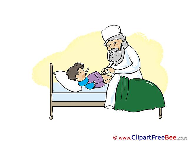 Patient Doctor Pics download Illustration