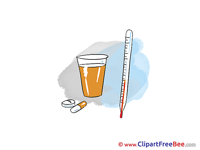 Pills Thermometer free Cliparts for download