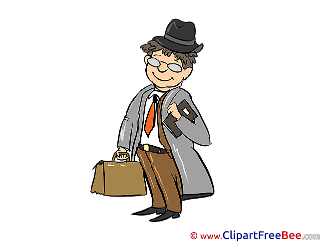 Agent Briefcase printable Images for download
