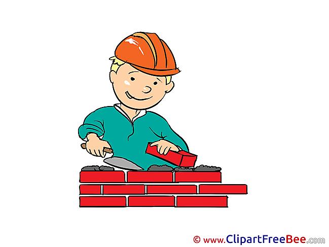 Builder Bricks download Clip Art for free