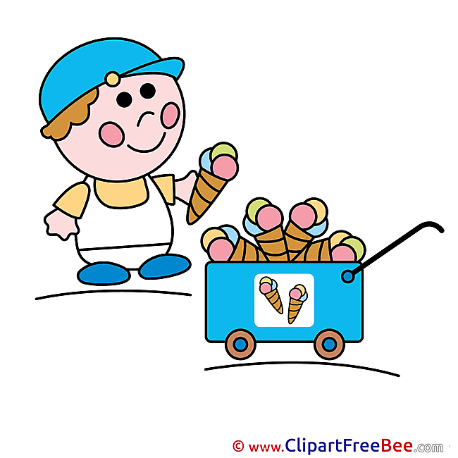 Iceman Ice Cream free Cliparts for download