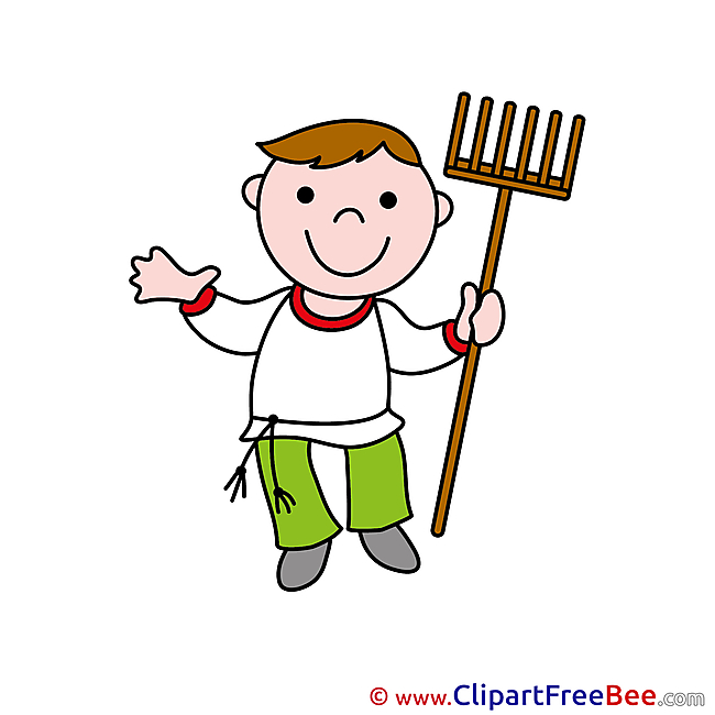 Peasant Clip Art download for free