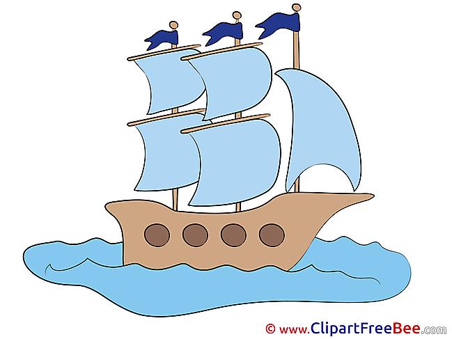 Ship Sea Pics free Illustration
