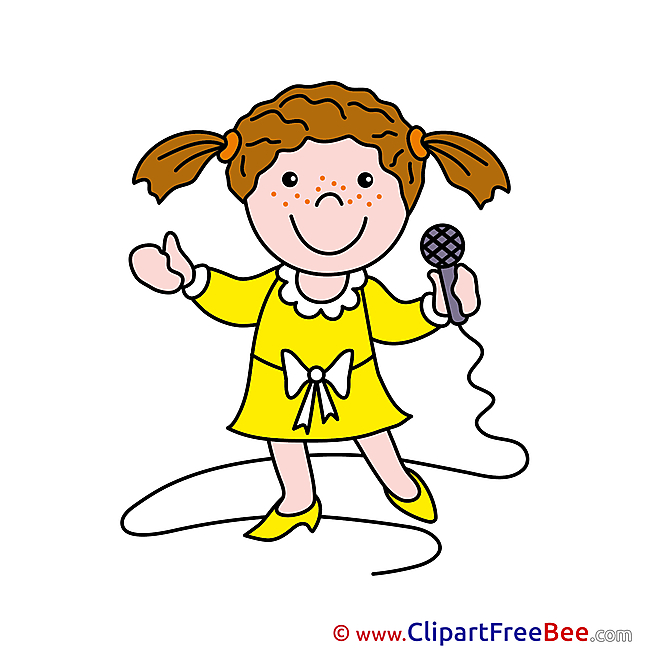Singer Microphone Clipart free Image download