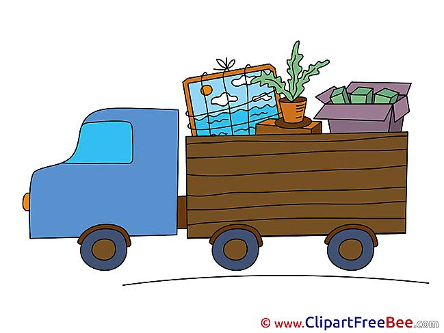 Truck Transportation download Clip Art for free