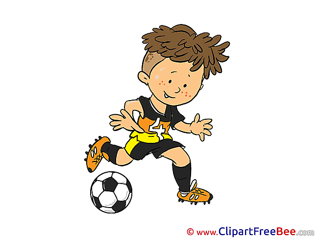 Boy free Illustration Football