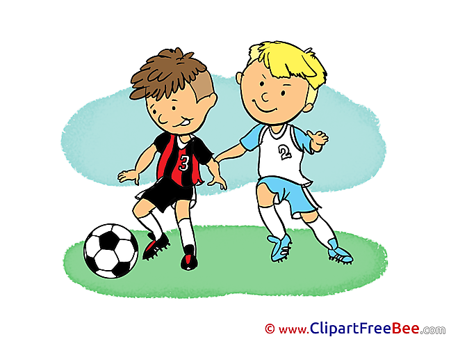 Children Football Illustrations for free