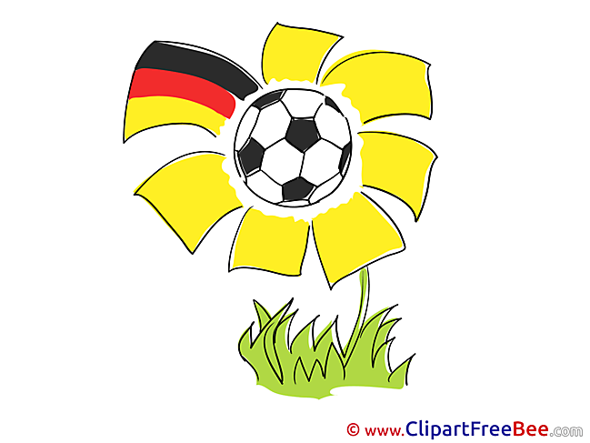 Flower Ball printable Football Images