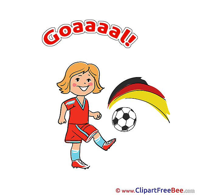 Germany Pics Football Illustration