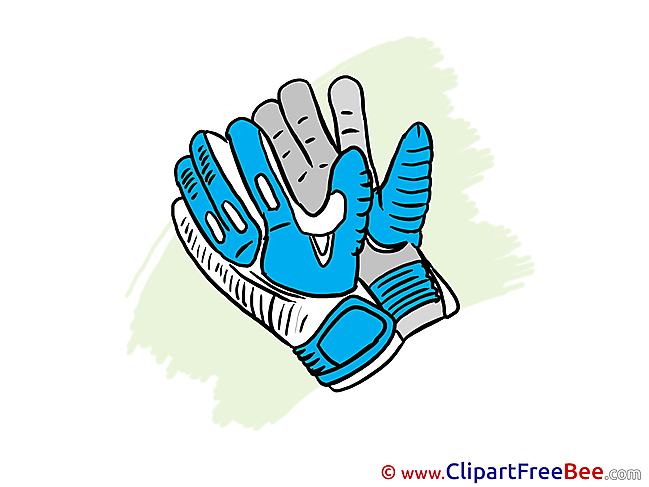 Gloves Clipart Football Illustrations