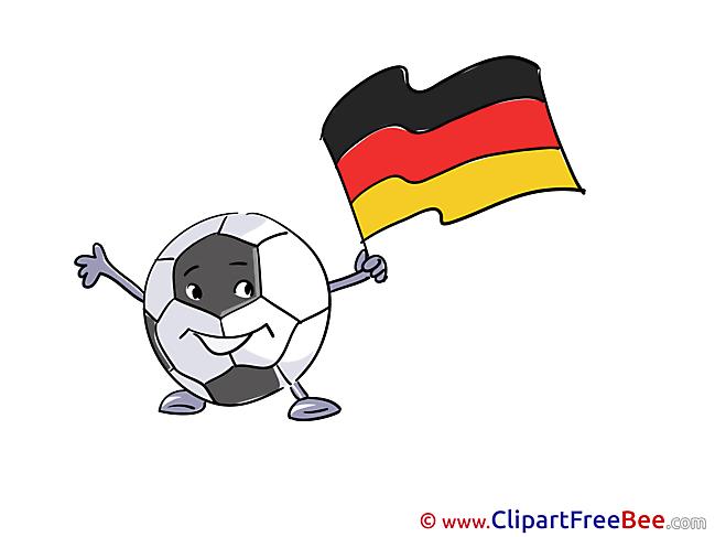 Mascot Germany Pics Football free Image