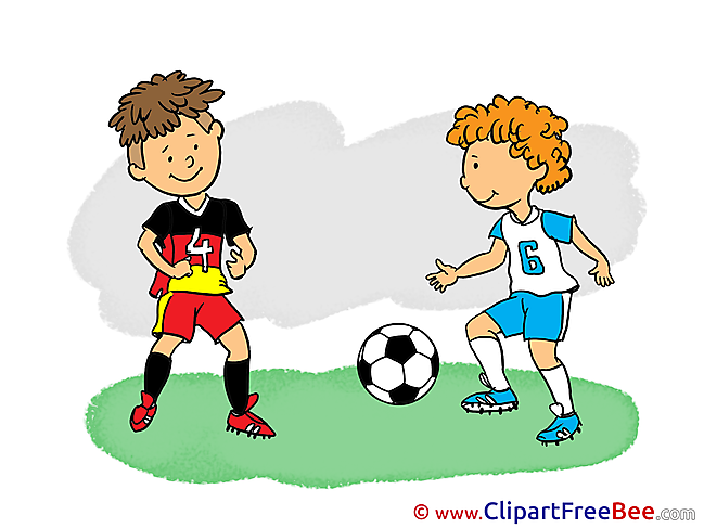 Players printable Illustrations Football