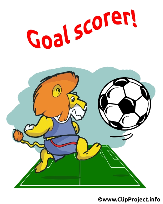 Soccer Birthday Card Goal Scorer