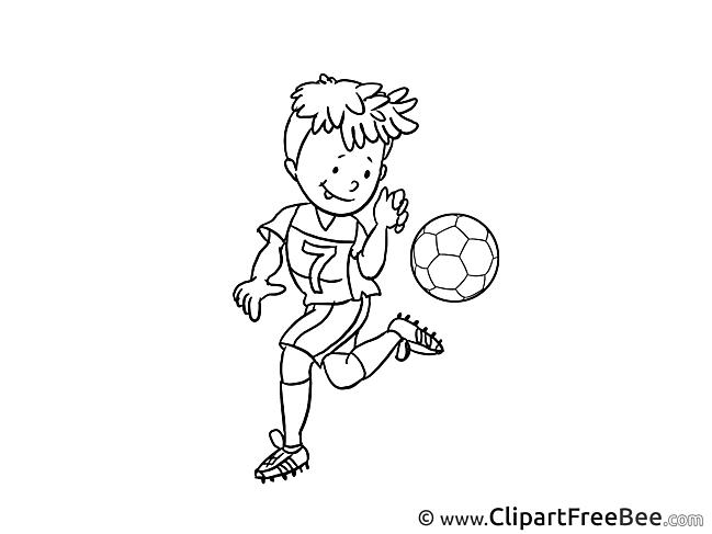 Tricks Pics Football Illustration
