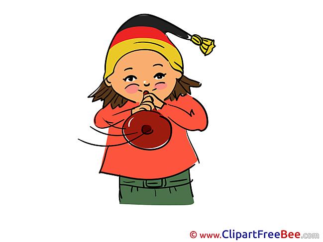 Trumpet Clipart Football Illustrations