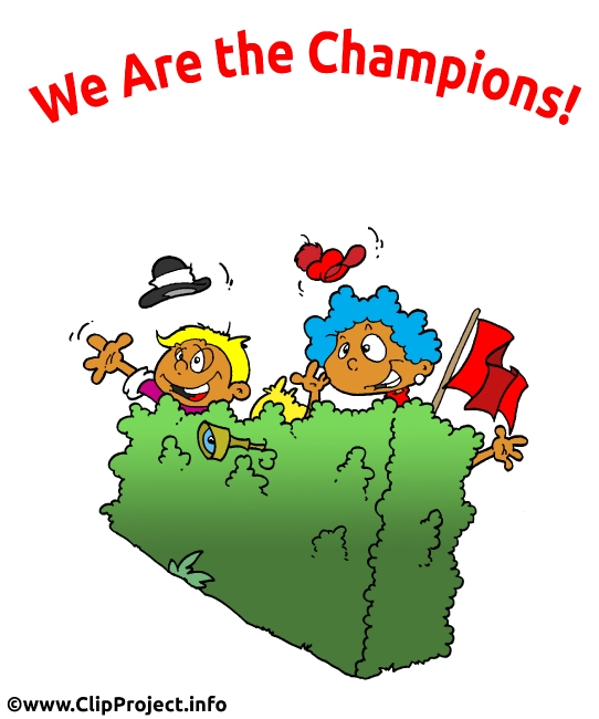 We are the Champions Cartoon