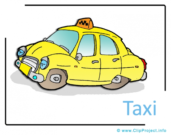 Taxi Clipart Picture free - Transportation Pictures free