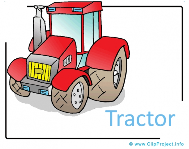 Tractor Clipart Picture free - Transportation Pictures free