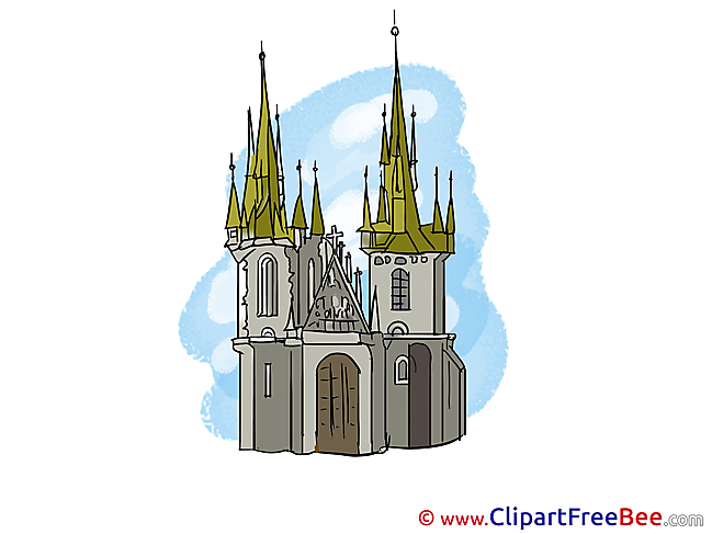 Cathedral download printable Illustrations