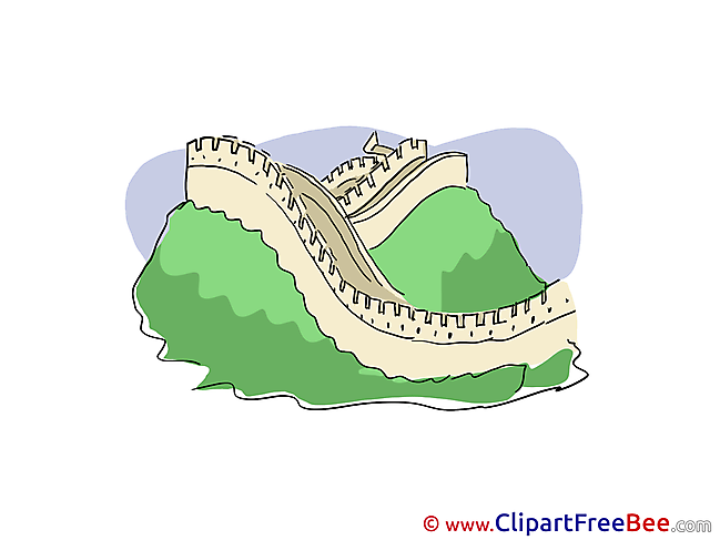 China Great Wall Pics printable Cliparts