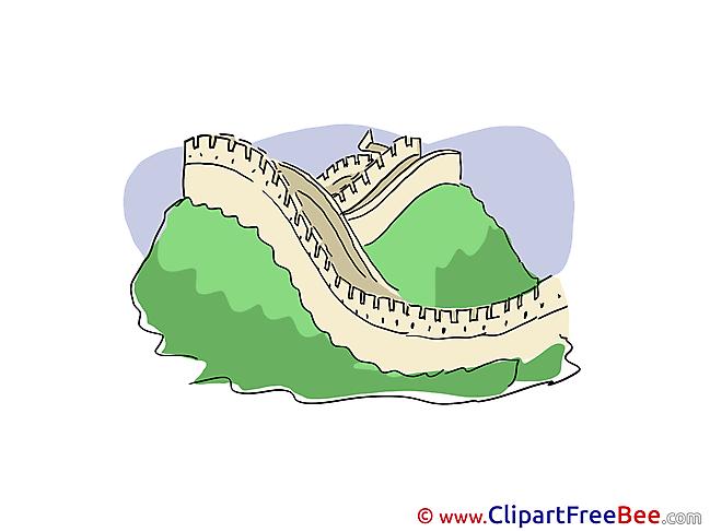 China Great Wall Pics printable Cliparts