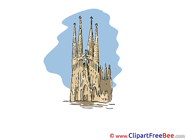Gothic Cathedral Clip Art download for free