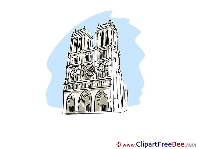 Notre Dame de Paris Pics free Illustration